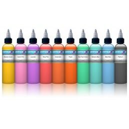 Intenze Pastel set of 10
