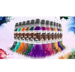 World Famous Ink - Jay Freestyle Watercolour Set - 12 x 30 ml