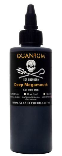 Quantum Tattoo Ink Sea Shepherd - Deep Megamouth 30ml
