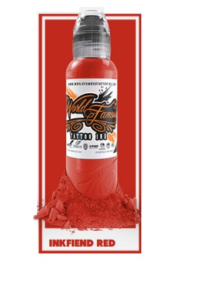 World Famous Ink - Inkfrien Red 30 ml *Master Mike