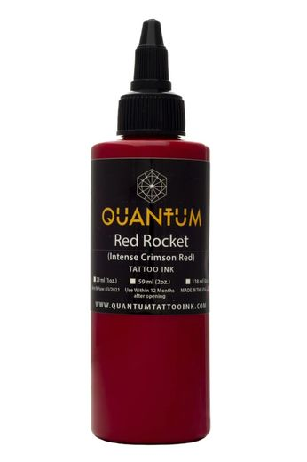 Quantum Tattoo Ink Red Rocket 20ml