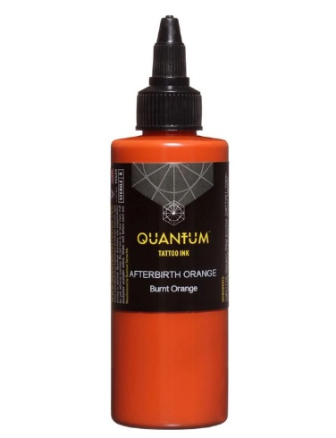 Quantum Tattoo Ink Afterbirth Orange 20ml
