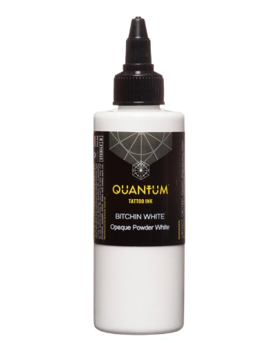 Quantum Tattoo Ink Bitchin White 60ml