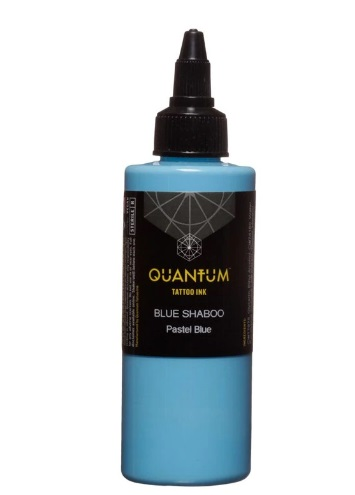 Quantum Tattoo Ink Blue Shaboo 20ml