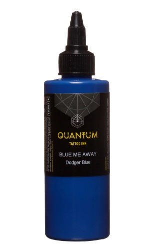Quantum Tattoo Ink Blue Me Away 20ml