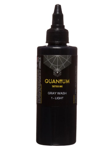Quantum Tattoo Ink Gray Wash *Light 30ml
