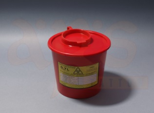 MEDICAL WASTE CONTAINER 1L
