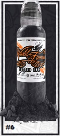 World Famous Ink - A.D. Pancho Paster Grey #6 - 30 ml