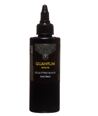 Quantum Tattoo Ink *Sculpting Black  20ml