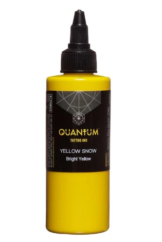 Quantum Tattoo Ink Yellow Snow 20ml